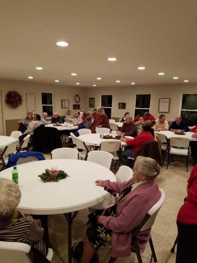 Christmas Dinner at Cedar Bluff. 120917