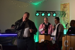 Dave Seratt and Pastor Ken and Tom