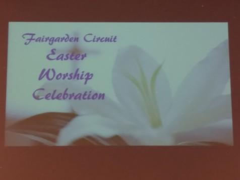 Fairgarden Circuit Easter Worship Celebration 03/25/18