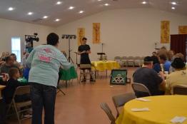 Community Friendship Dinner 04/10/18 with Bean Bag Baseball