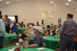 Community Friendship Dinner 04/10/18 with Bean Bag Baseball - GREEN Team won 15 to 0