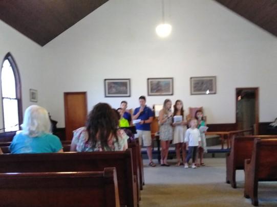 Children's Service at Cedar Bluff